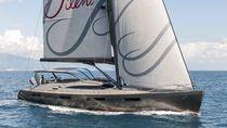 Cruising sailing yacht / deck saloon / 5-cabin