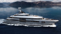 Cruising mega-yacht / wheelhouse / steel / with helideck