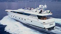 Cruising super-yacht / flybridge / displacement
