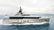 Cruising super-yacht / explorer / flybridge / displacement