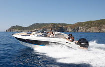 Outboard cabin cruiser / twin-engine / open / 9-person max.
