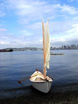 Classic rowboat