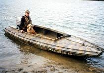 Outboard jon boat / sport-fishing