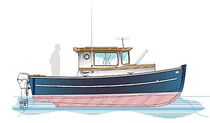 Inboard cabin cruiser / canal / classic