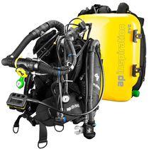 Closed circuit diving rebreather