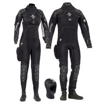 Dive suit / drysuit / long-sleeve / one-piece