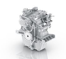 Boat reduction gearbox / engine