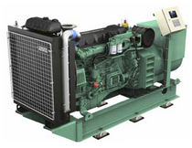Ship generator set / diesel / high-speed / direct fuel injection