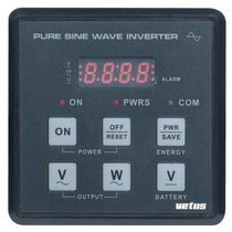 Marine monitoring and control panel / DC/AC converter