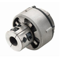 Flexible mechanical coupling / for boats / shaft / anti-vibration