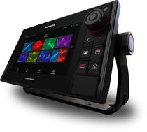 Boat display / multi-function / digital / touch screen