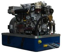 Yacht generator set / diesel / with battery charge controller