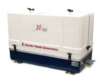 Yacht generator set / diesel / soundproofed