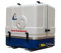 Boat generator set / diesel / with battery charge controller