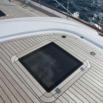 Boat deck hatch / square / flush