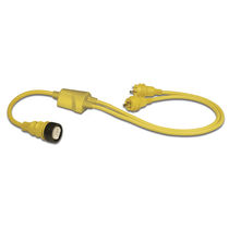 Adapter cable / marine / for docks