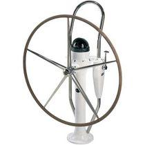 Sailboat steering wheel pedestal