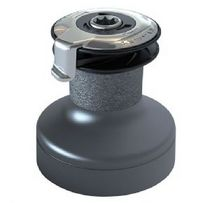 Sailboat winch / self-tailing / 2-speed / anodized aluminum