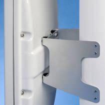 Sailboat navigation instrument bracket / for masts