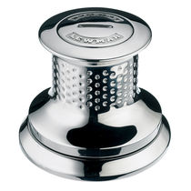 Boat capstan / electric / stainless steel base