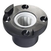 Boat bearing / rudder