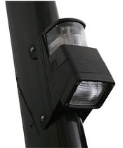 Deck floodlight / for boats / with mast light