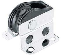 Vertical block / cheek / plain bearing / single
