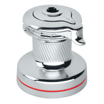 Classic sailboat winch / self-tailing / single-speed