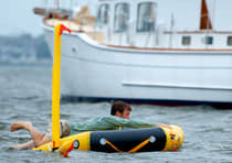 Man overboard rescue system / for boats