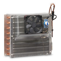 Evaporator / for boats / ventilated