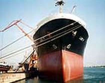 Dual-component epoxy coating for merchant ships and professional vessels
