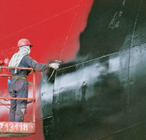 Professional vessel coating / for ships / two-component