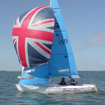 Spinnaker / for one-design sport keelboats