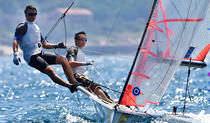 Double-handed sailing dinghy / regatta / skiff / asymmetric spinnaker