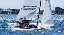 Double-handed sailing dinghy / regatta / skiff