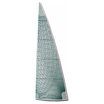 Mainsail / for racing sailboats / membrane
