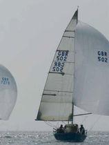 Sailboat spinnaker pole / aluminum / telescopic