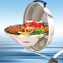 Charcoal marine barbecue