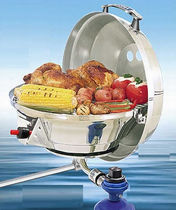Natural gas marine barbecue