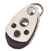 Plain bearing block / single / with fixed head / for sailboats