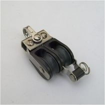 Plain bearing block / double / with fixed head / with becket