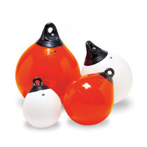 Mooring buoy / for commercial ports / inflatable / vinyl