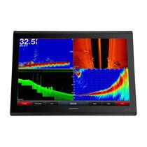 Chart plotter / sonar / radar / for boats