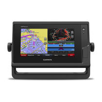 Chart plotter / sonar / marine / color