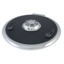 Boat deck hatch / round / opening / with ventilation grill