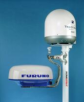 Radar antenna mount / Satcom / GPS / aluminum