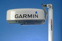 Radar antenna mount / aluminum / mast / self-leveling