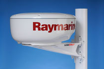 Satcom antenna mount / composite / mast