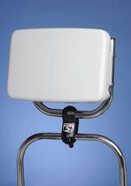 Boat navigation instrument bracket