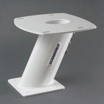 Satcom antenna mount / aluminum